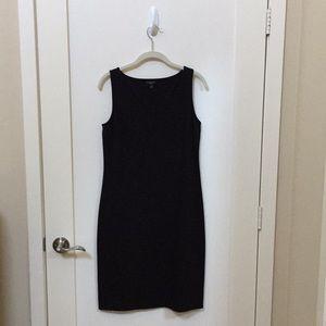 Talbots Black Jersey Stretch Dress Size 4